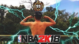 FIRST 99 OVERALL on NBA 2K18 BE LIKE ...... .