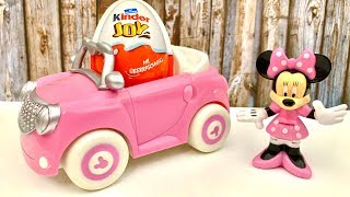Best Kinder Joy and Minnie Mouse  huevo sorpresa - Myszka Minnie i Jajko Niespodzianka