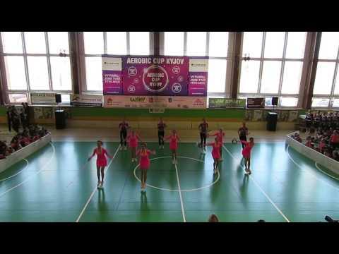 Cvicsnami.cz - Jeden team - Aerobic Cup Kyjov 2017