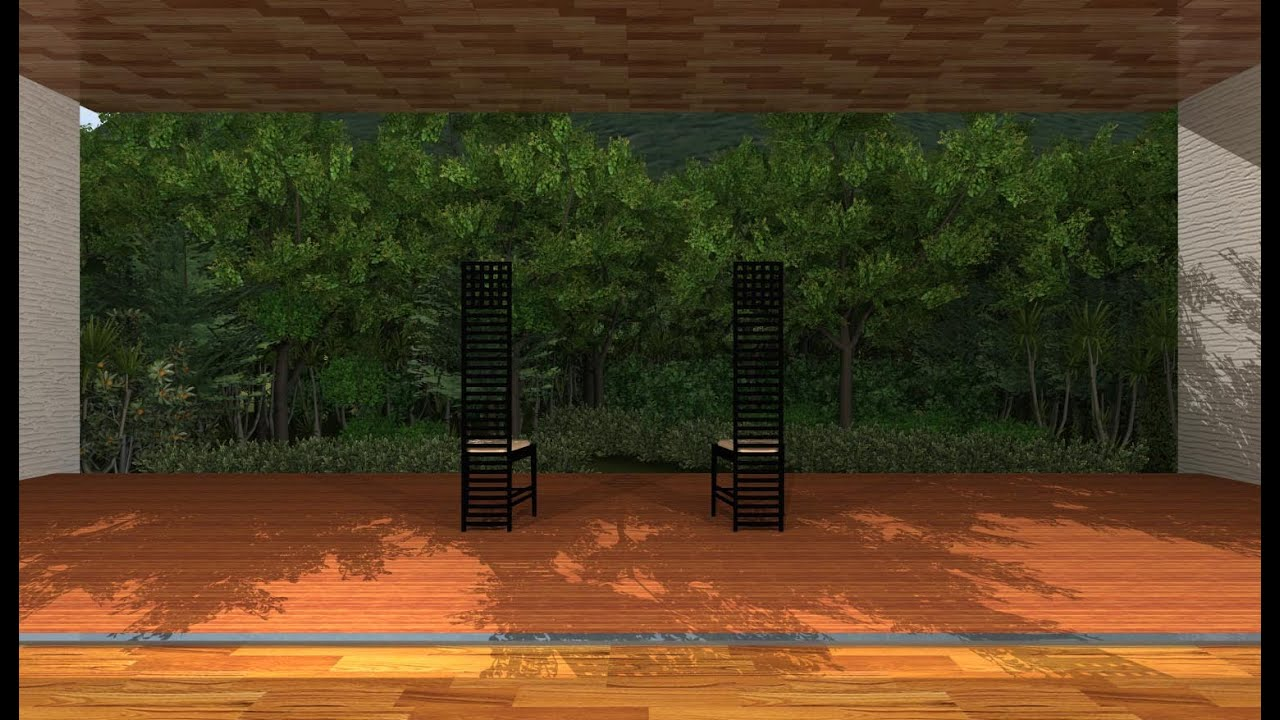 3DArchiDesigner 作図編 #17 モデリングPART3 気になった事2。 作業パースとレンダリングパースの違い