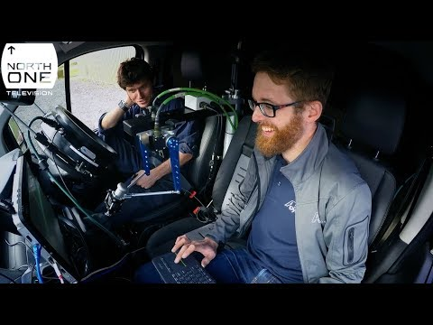 Guy Martin Vs The Robot Car - Guy's autonomous van