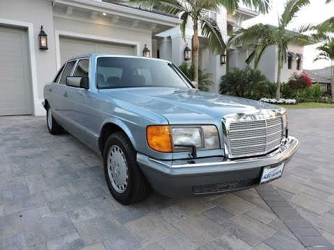1987 mercedes benz 420sel w126 for sale by auto europa for Mercedes benz w126 for sale