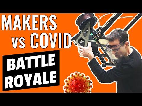 Makers VS Covid-19: Visières et Masques pour Tous !