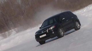 Тест-драйв Акура РДХ Acura RDX Программа об автомобилях Белая Полоса