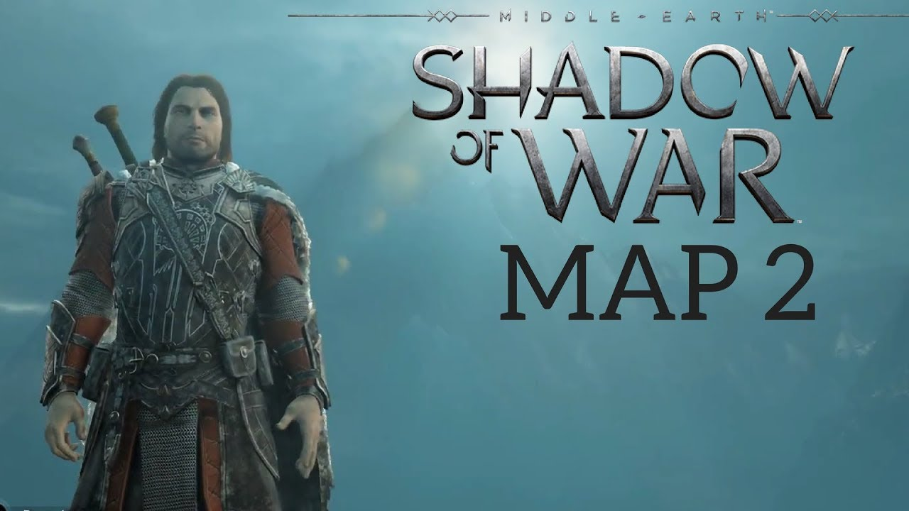 HOW BIG IS THE MAP in Middle-Earth: Shadow of War? Walk Across Map 2