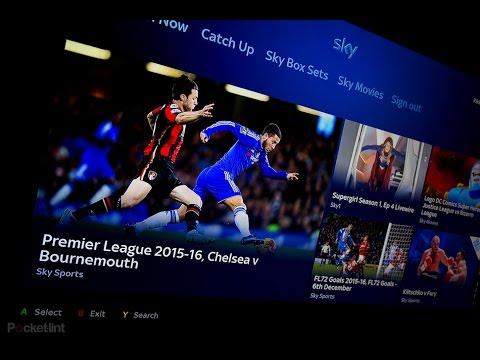 Xbox One Sky Tv App Live UK