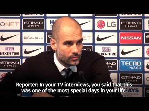 Pep Guardiola - 'It Is One Of My Proudest Days Of Being A Coach'