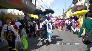 Carnaval Papalotla Tlaxcala 2014 barrio de Xilotzinco