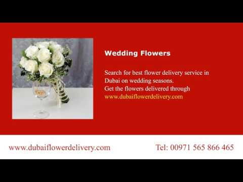 Wedding Flowers Delivery in Dubai by Online Order