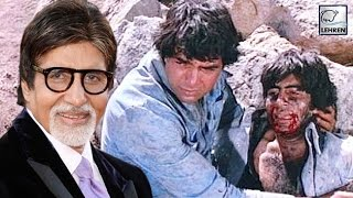 Amitabh Bachchan's Climax Scene In Sholay Was To Be RESHOT