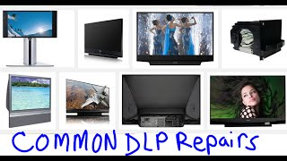 most common easy fixes dlp tvs no power no picture dots blinking leds turns off
