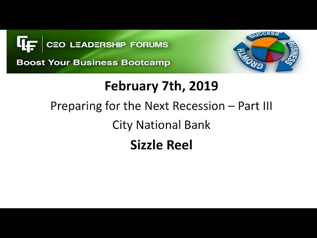 2019 02 07 CEO Leadership Sizzle Reel