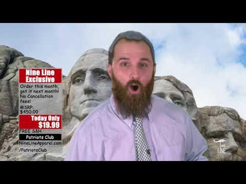 Nine Line Apparel's Patriots Club! - YouTube