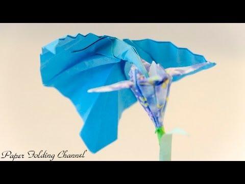 Origami Hummingbird - YouTube - photo#37
