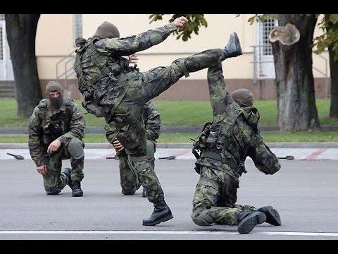 Девушки в спецназе. Марьина Горка