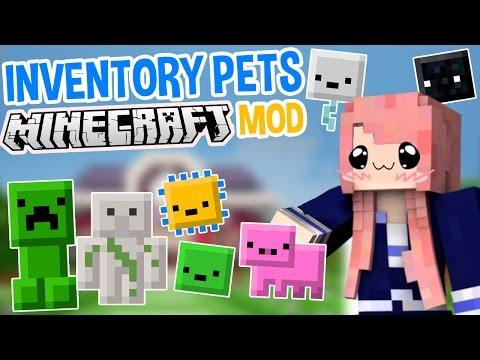 Inventory Pets   Super Cute Minecraft Mod