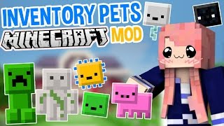 Inventory Pets | Super Cute Minecraft Mod