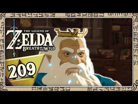 THE LEGEND OF ZELDA BREATH OF THE WILD Part 209: Das Studierzimmer des Königs in Schloss Hyrule
