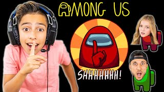 Ferran is the IMPOSTER! Playing AMONG US!! | Royalty Gaming