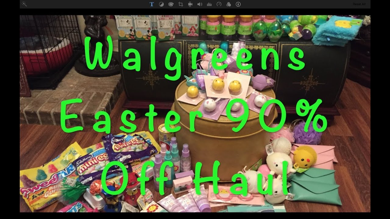 Walgreens Went 90 Off On Their Easter Clearance Today May