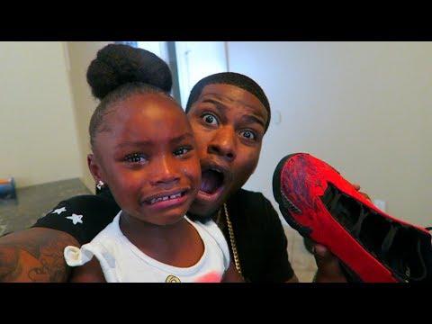 OMG Kids Ruined My Jordans PRANK thumbnail