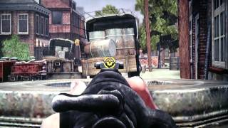 Destrucción de camiones con bazooka en modo realista/gameplay Brothers In Arms ps3