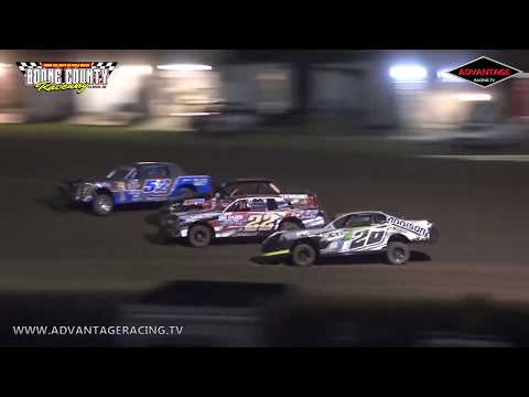 Boone County Raceway Highlights - 7/2/19