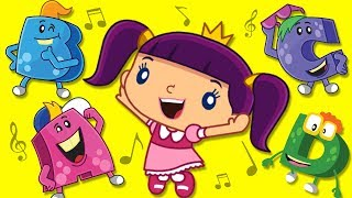 ABC Phonics Song for Kids | ABC Monsters | Nursery Rhymes & Kids Songs