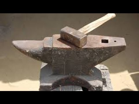 filing the Anvil Blacksmithing #Eps1