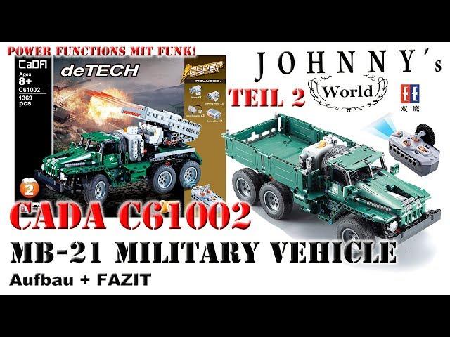 Watch Teil 2 Cada C61002 Mb 21combat Vehicle Von Double E Aufbau