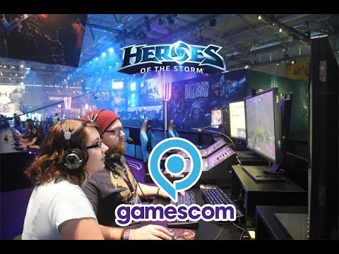 Gamescom 2017 IRL - Heroes of the Storm Changes Discussion - Round Table