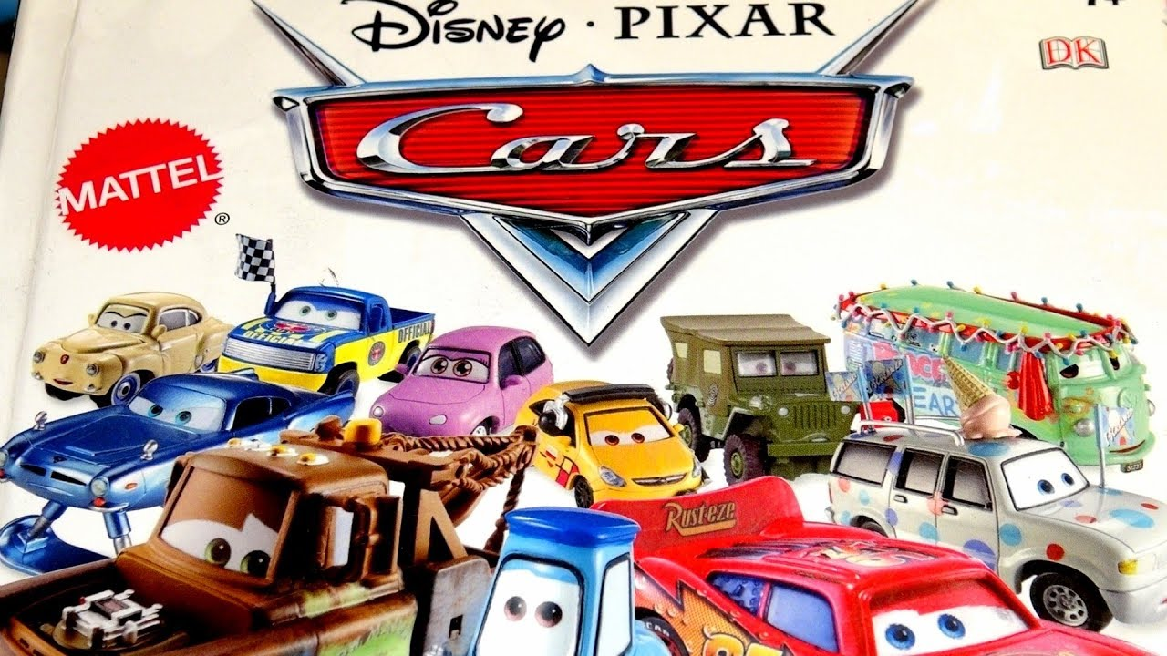 Pixar Cars Character Encyclopedia Review Of All Cars From Pixar