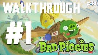 Crazy Cars! Bad Piggies HD 2015 Walkthrough Ep 01