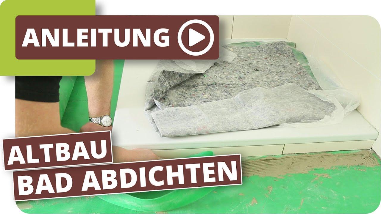 badezimmer altbau holzboden richtig aufbauen und abdichten youtube. Black Bedroom Furniture Sets. Home Design Ideas