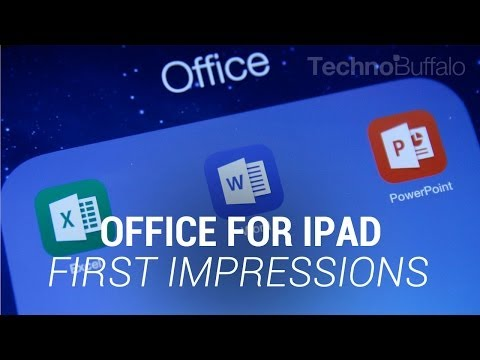 Office for iPad First Impressions