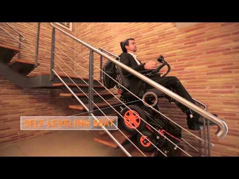 Der treppensteigender elektro rollstuhl TopChair-S