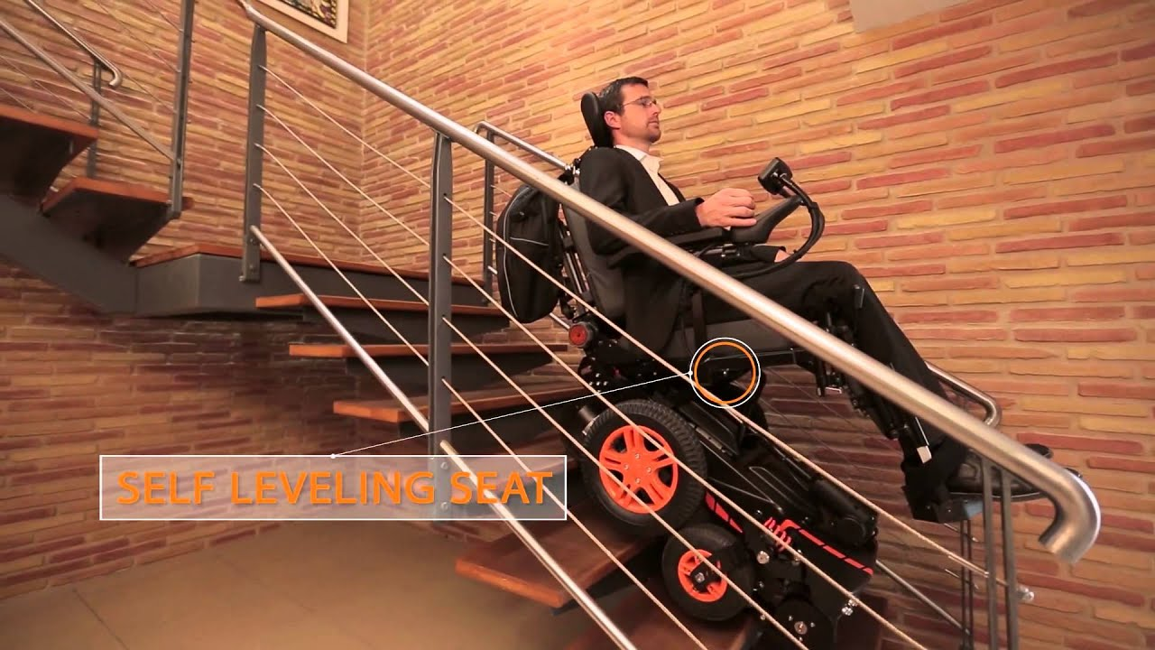 Attractive The Stair Climbing Wheelchair TopChair S   YouTube