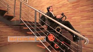 The stair-climbing wheelchair TopChair-S