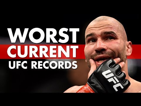 The 10 Worst Current UFC Records