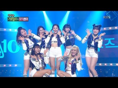 뮤직뱅크 Music Bank - 오마이걸 - OOH-AHH하게 + 치얼업 (OH MY GIRL - Like OOH-AHH + CHEER UP).20161223