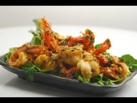 Chilli Garlic Shrimps | Cooksmart | Sanjeev Kapoor Khazana
