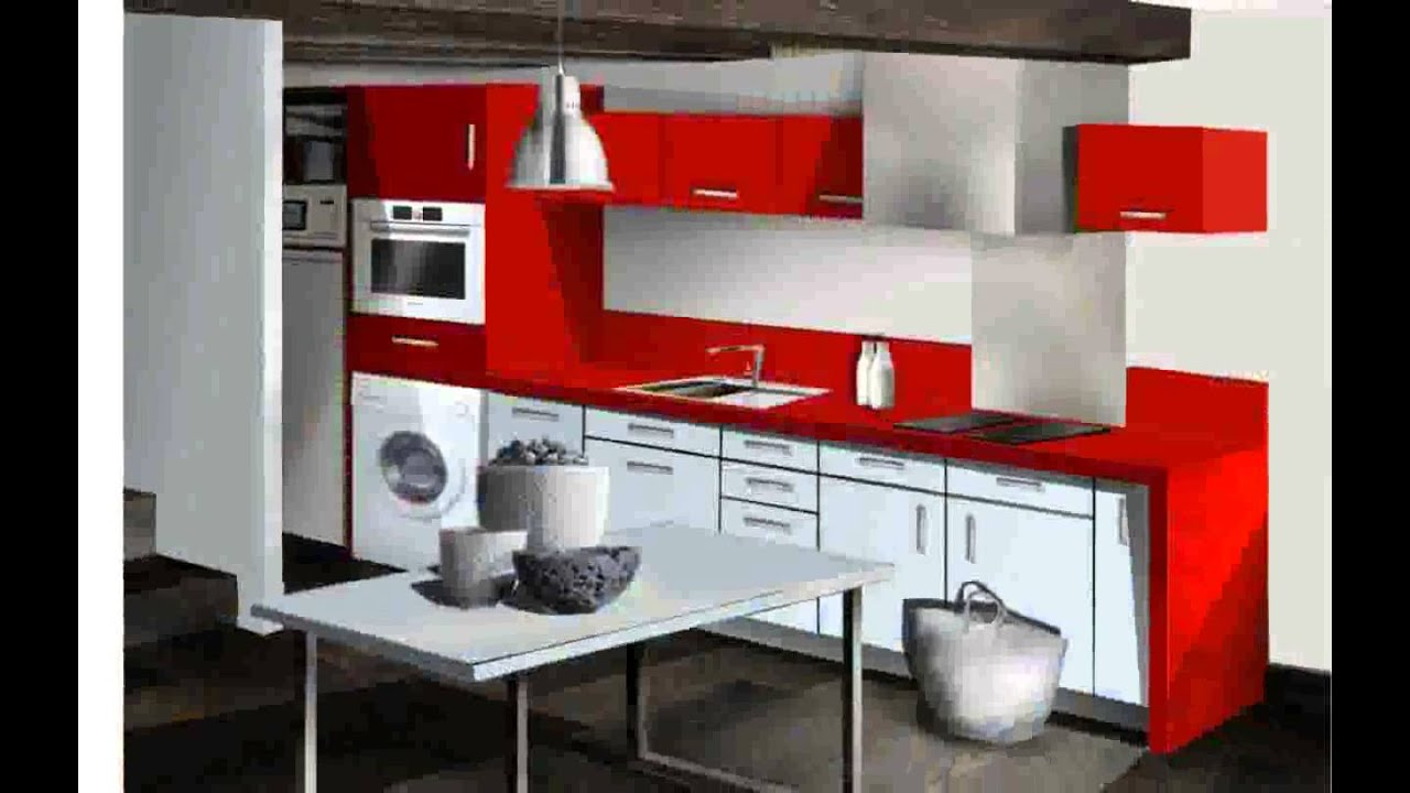petite cuisine design youtube. Black Bedroom Furniture Sets. Home Design Ideas