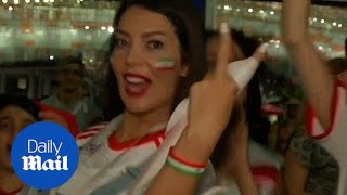 Iranian women full of pride for their team despite World Cup exit