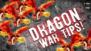 Clash of Clans War Tips! Town Hall 10 Dragons Taking Down Air D Easy!