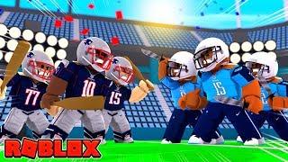 Roblox NFL Football - Patriots vs Titans! (Roblox NFL 2)