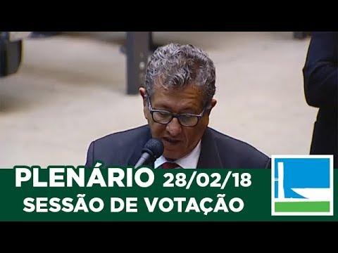 PLENÁRIO - Sessão Deliberativa - 28/02/2018 - 09:31