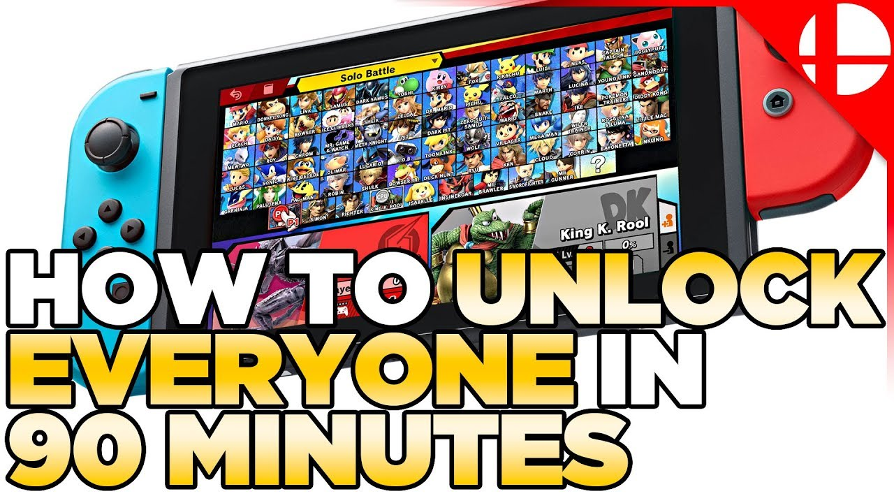 How to unlock all the characters in Super Smash Bros  Ultimate | iMore