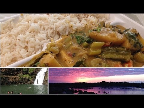 VEGAN CURRY + MOTHER NATURE | Hawaii Vlog #7 - Raw Nourishment