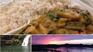 VEGAN CURRY + MOTHER NATURE | Hawaii Vlog #7 - Raw Nourishment