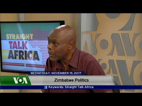 Straight Talk America's Guest on Zimbabwe's dynamic politial situation